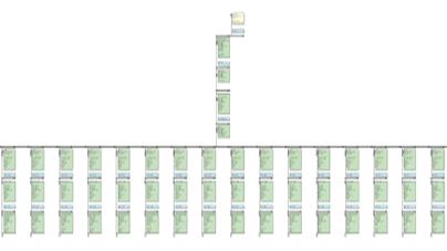 Note de calcul BT d'un Tarif Vert pour 3 portiques